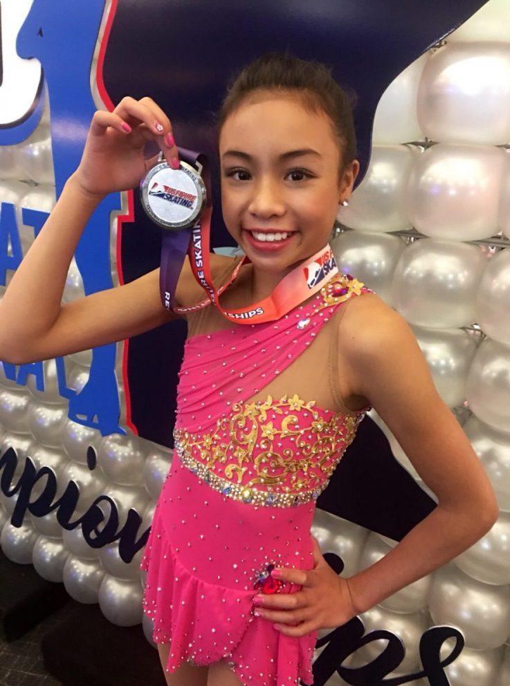 Isabelle Inthisone: Lao America's Figure Skating Phenom