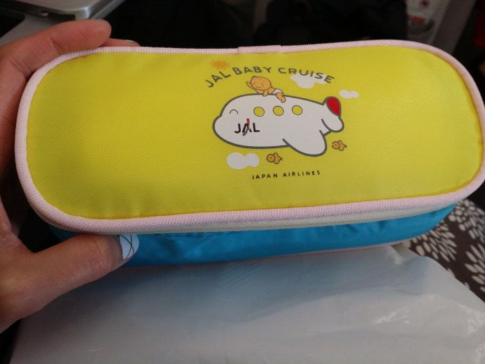 Japan Airlines baby food