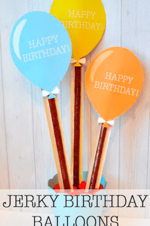LDS Jerky Birthday Balloon