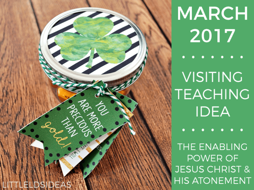 March 2017 Visiting Teaching Idea
