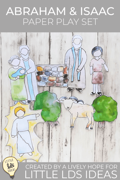 Queen Esther Printable Play Set. This hand-painted play set is perfect for Primary lessons, Family Home Evening or gospel discussions