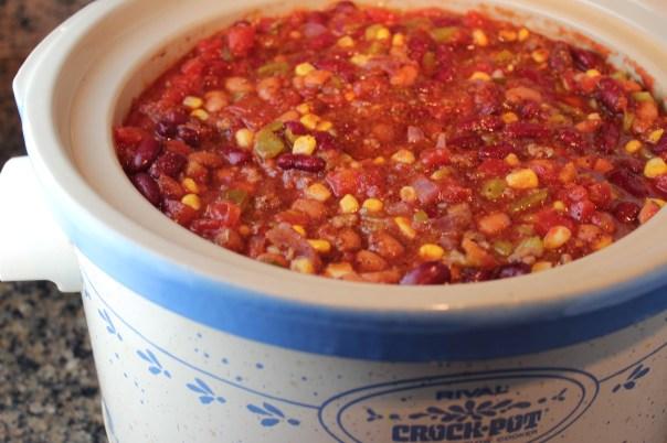 Crock Pot Taco Soup {Little Leopard Book}
