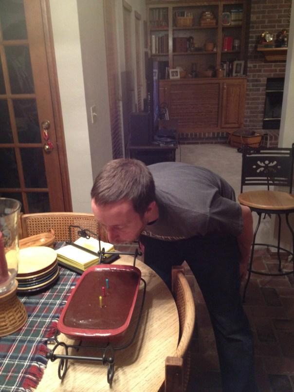 Gluten Free Chocolate Birthday Cake