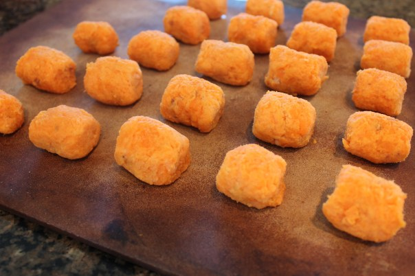 Baked Sweet Potato Tots