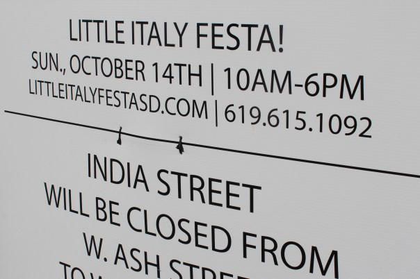 little italy, festa, san diego, october, festival, Italian
