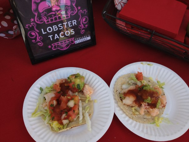 lobster tacos, chelsea's kitchen, scottsdale, phoenix, arizona taco festival, food, tacos