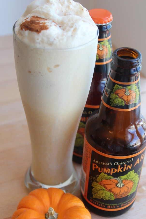 Pumpkin Ale Ice Cream Float