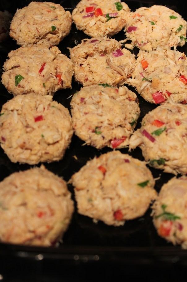 crab cakes, italian style crab cakes, easy crab cakes, simple crab cake recipe