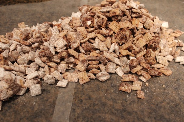 Nutella Chex Puppy Chow