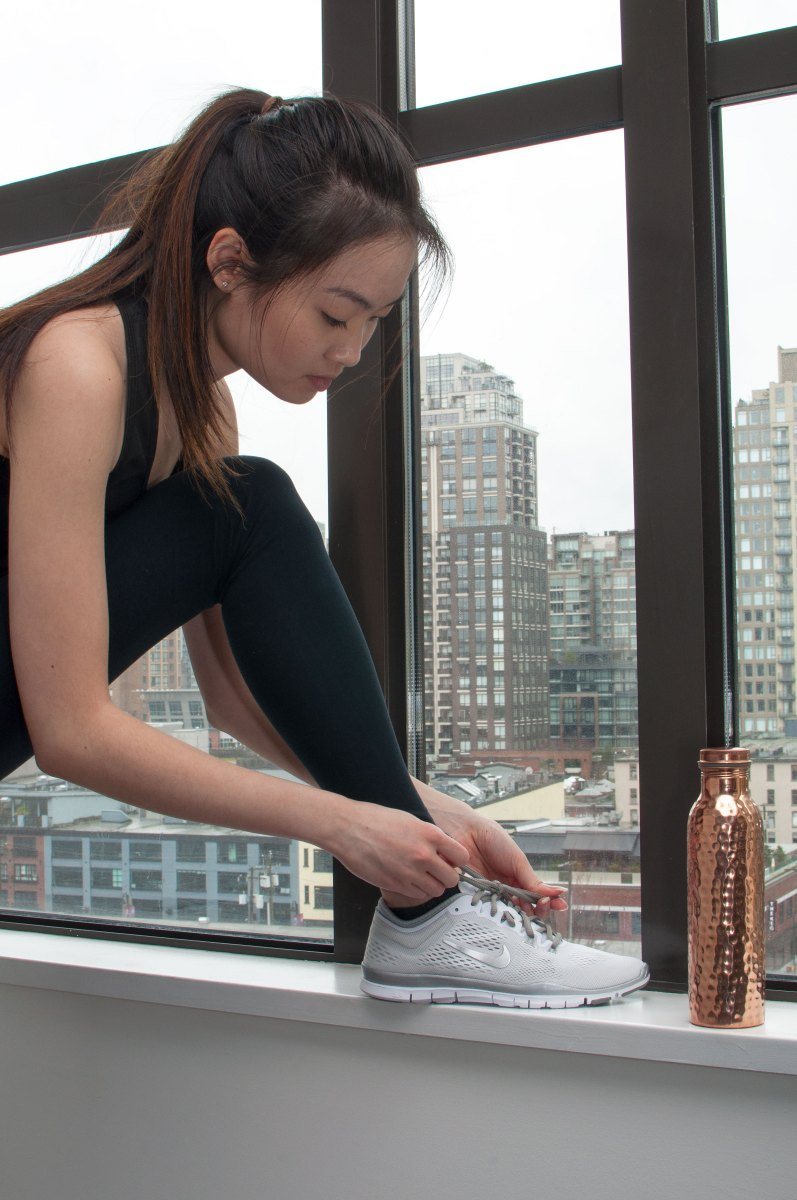 Healthy Lifestyle ft. Blogilates & Copper H2O