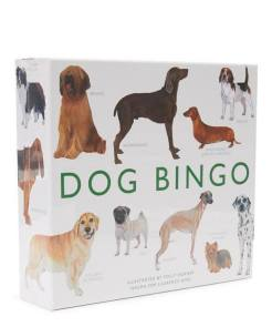 Photograph of DOG BINGO game.