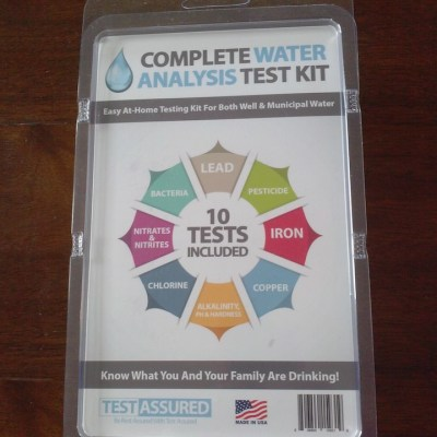 Complete water analysis test kit bring peace of mind