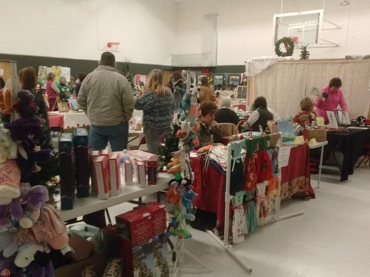 A small glimpse at the Mackay Christmas Bazaar.