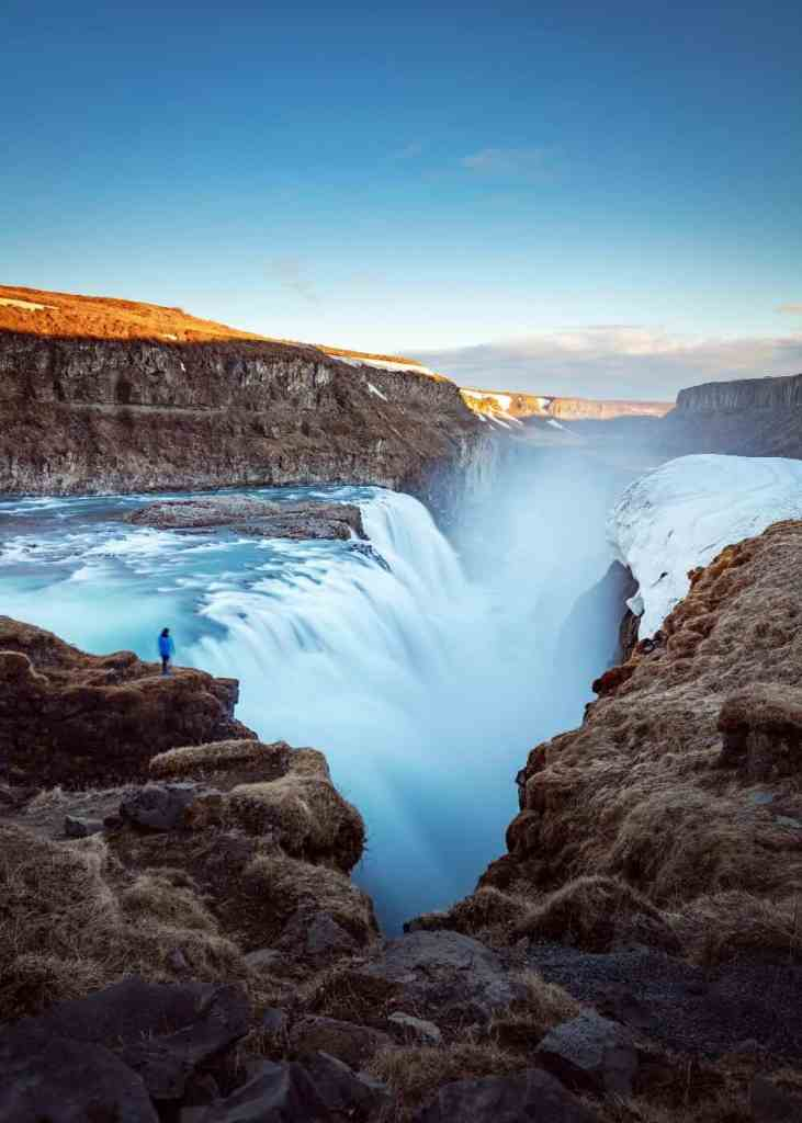Iceland waterfall - celebrate your achievements as a solo female traveller