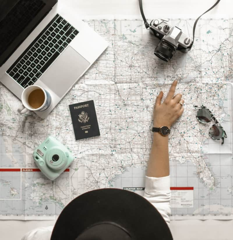 Make sure to look at visa requirements when planning your solo travel adventure