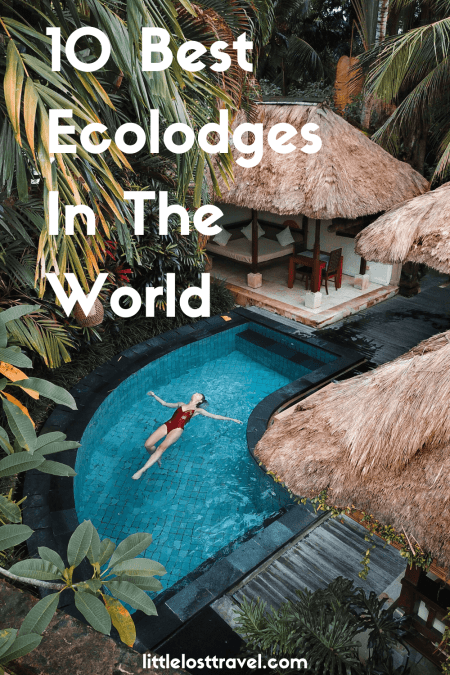 pinterest pin for ecolodges