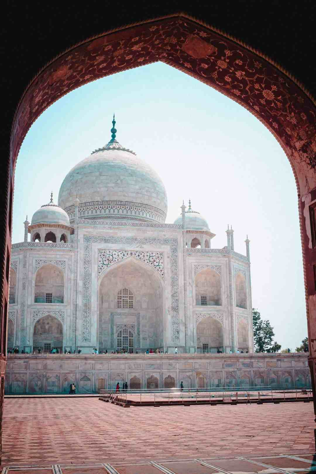virtual travel experiences at the taj mahal