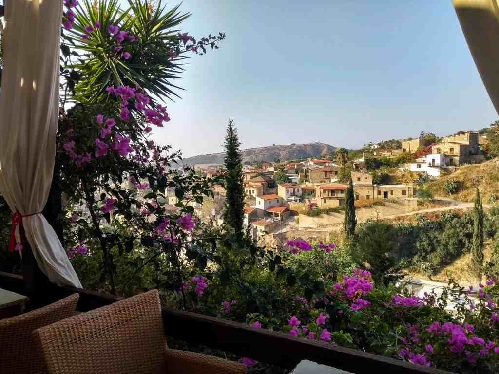 Tochni Taverb view for Cyprus itinerary