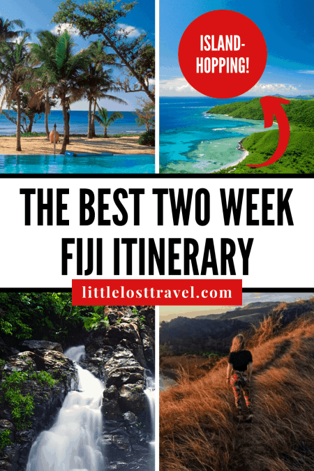 Planning to travel to Fiji? Here's your 2 week Fiji itinerary, including island-hopping, Cloud 9 the floating pizzeria bar and top activities you can do. #fiji #southpacific #fijitravel