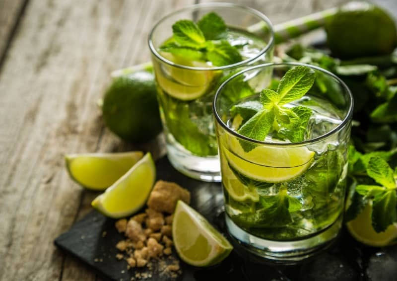 Mojitos were made with moonshine before Sir Francis Drake