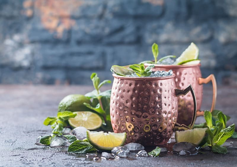 Moscow mules are iconic cocktails
