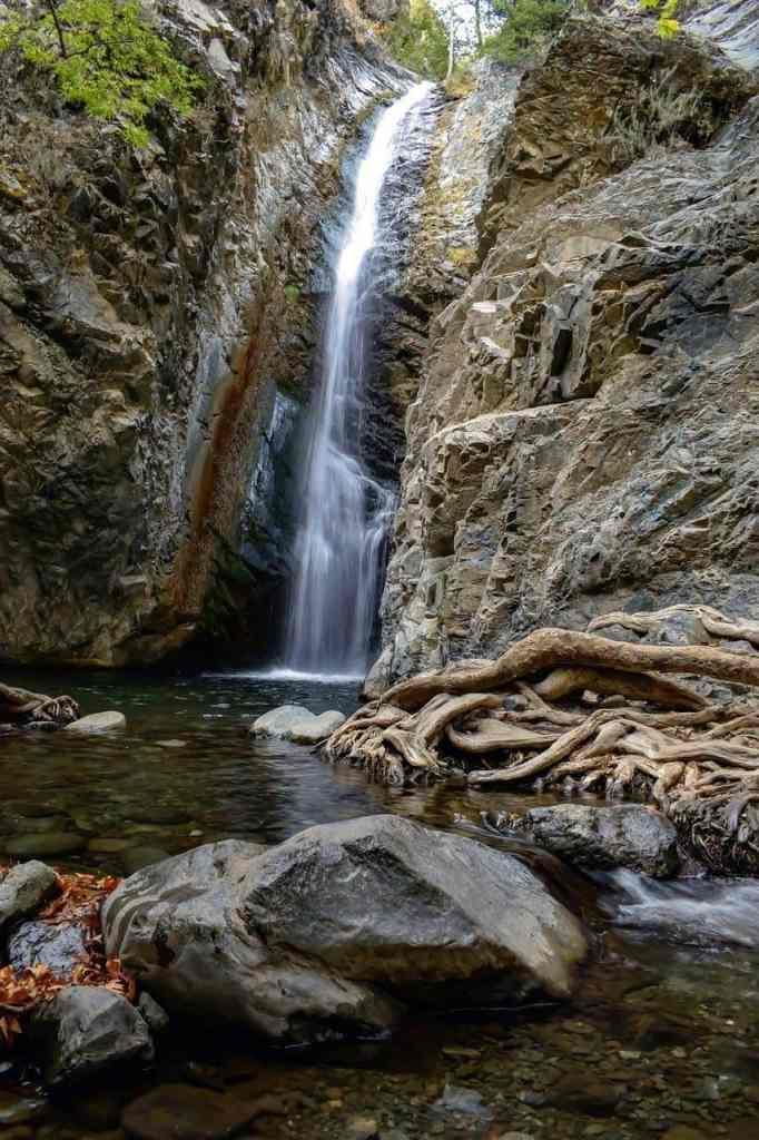 Caledonia Waterfall at Pano Platre