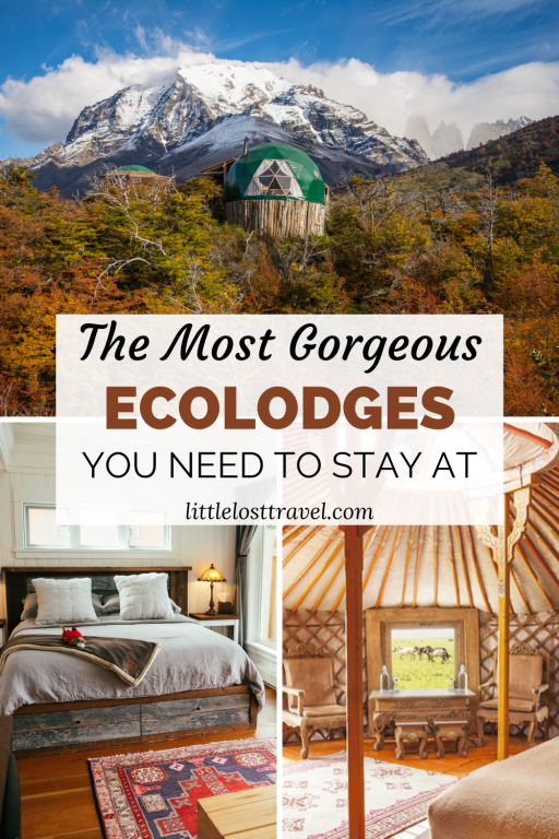 The best ecolodges in the world you need to stay at. Featuring luxury eco resorts in Australia, Costa Rica, Mongolia and more.