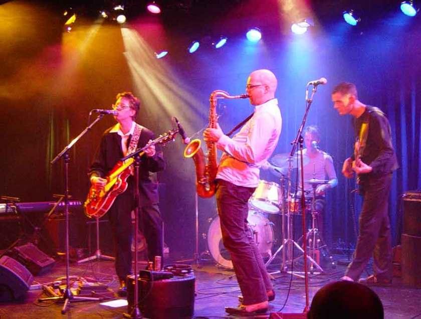 Louis! Bellevue Theater Amsterdam 2003 - with Arend Bouwmeester, Thijs Verwer & Geurt Engelsman