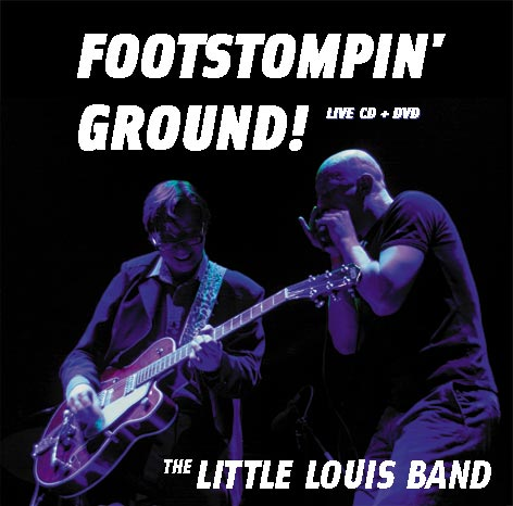 Little Louis Band - Footstompin' Ground CD cover