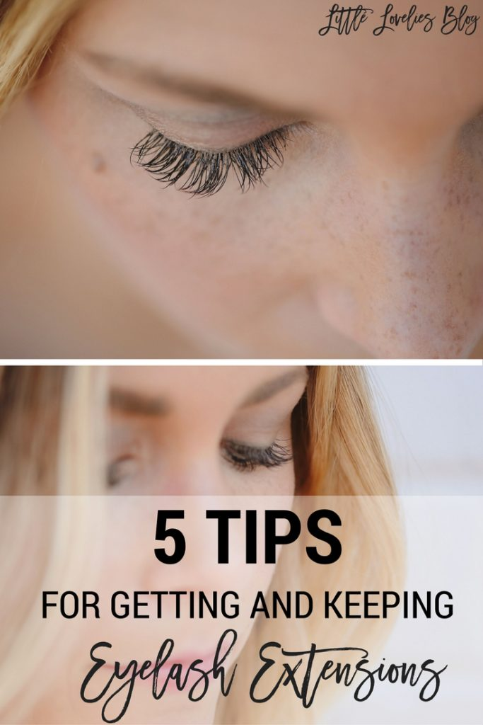 5 tips for getting and keeping eyelash extensions