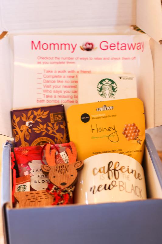 mommy getaway box