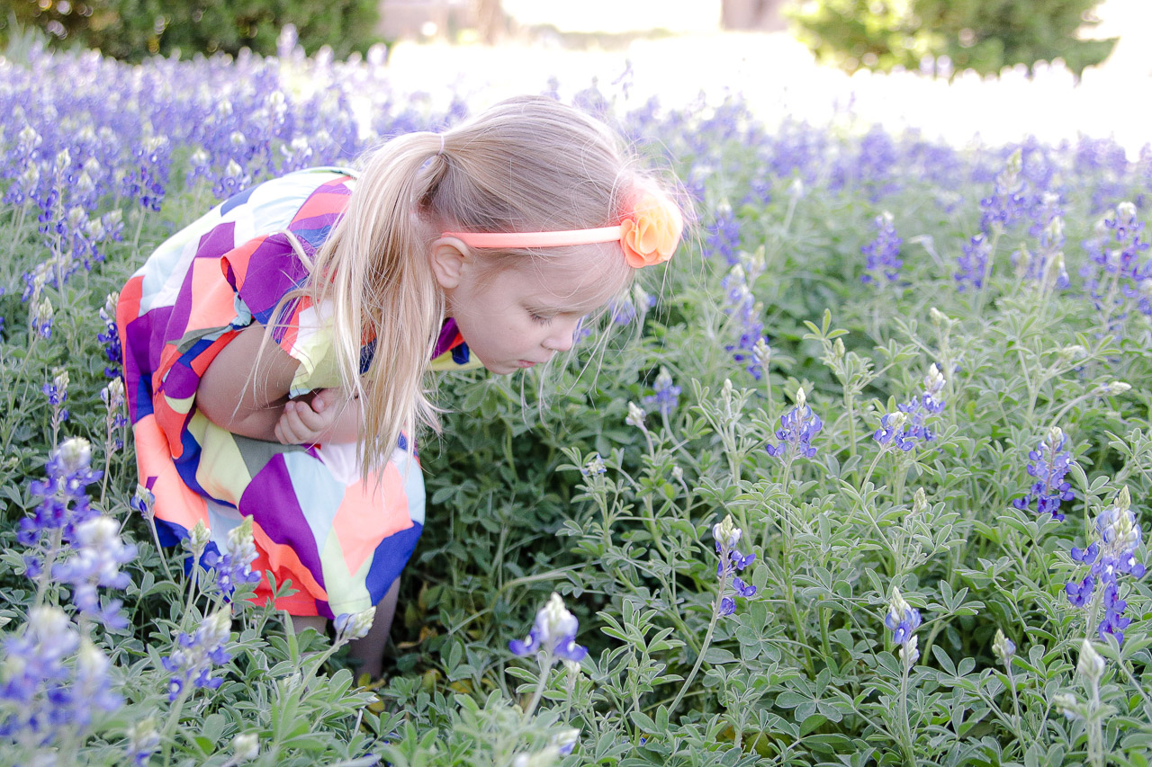 Texas Bluebonnets in the Spring with Crazy 8 Kids and Toddler Trends and Clothing
