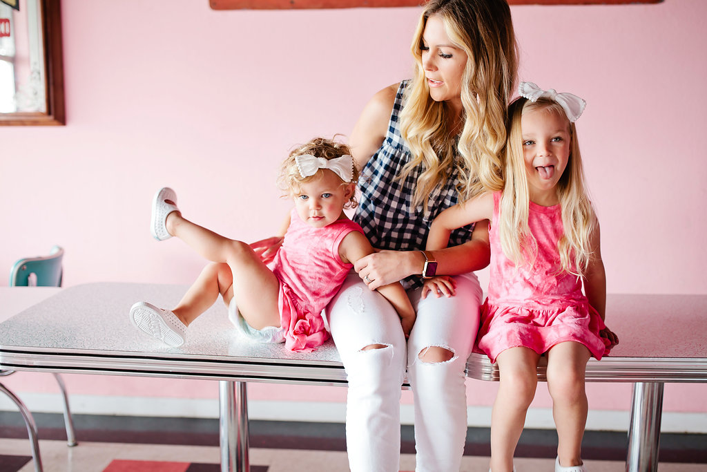 pink dresses for toddlers