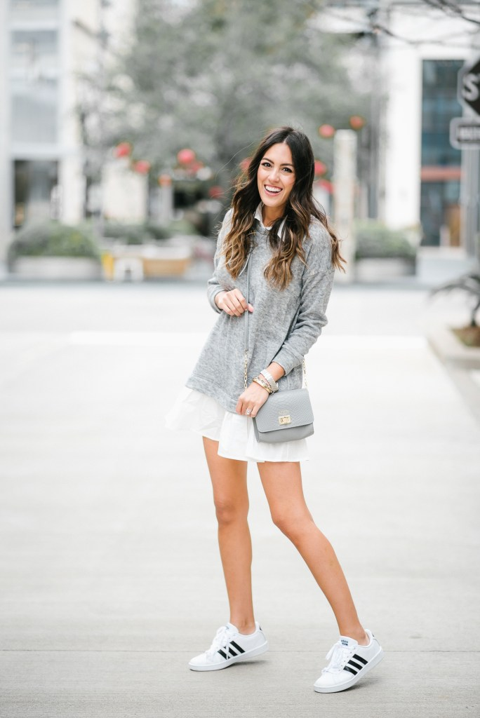 b4d833d0da0 20+ Ways to Wear Adidas Superstar Sneakers - Little Lovelies Blog