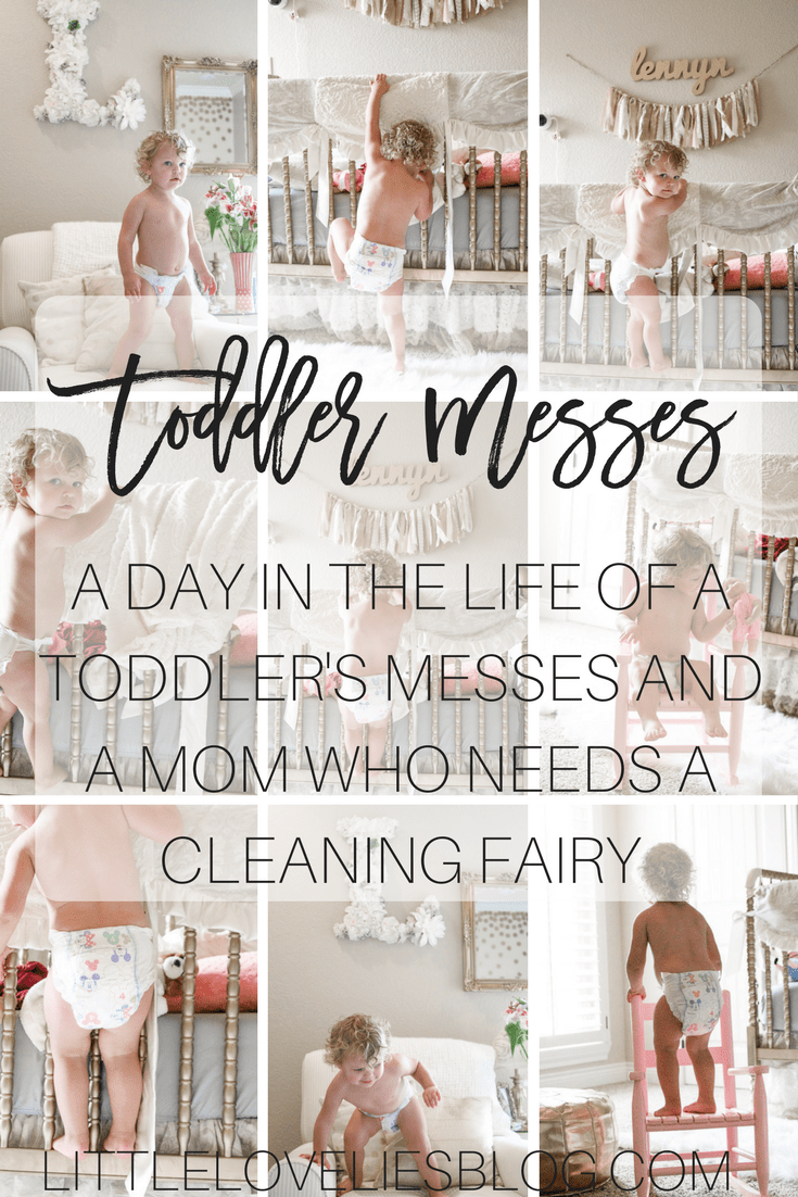 A day in the life of toddler's messes and a mom who needs a cleaning fairy + where to save on diapers! https://ooh.li/9f8afaa