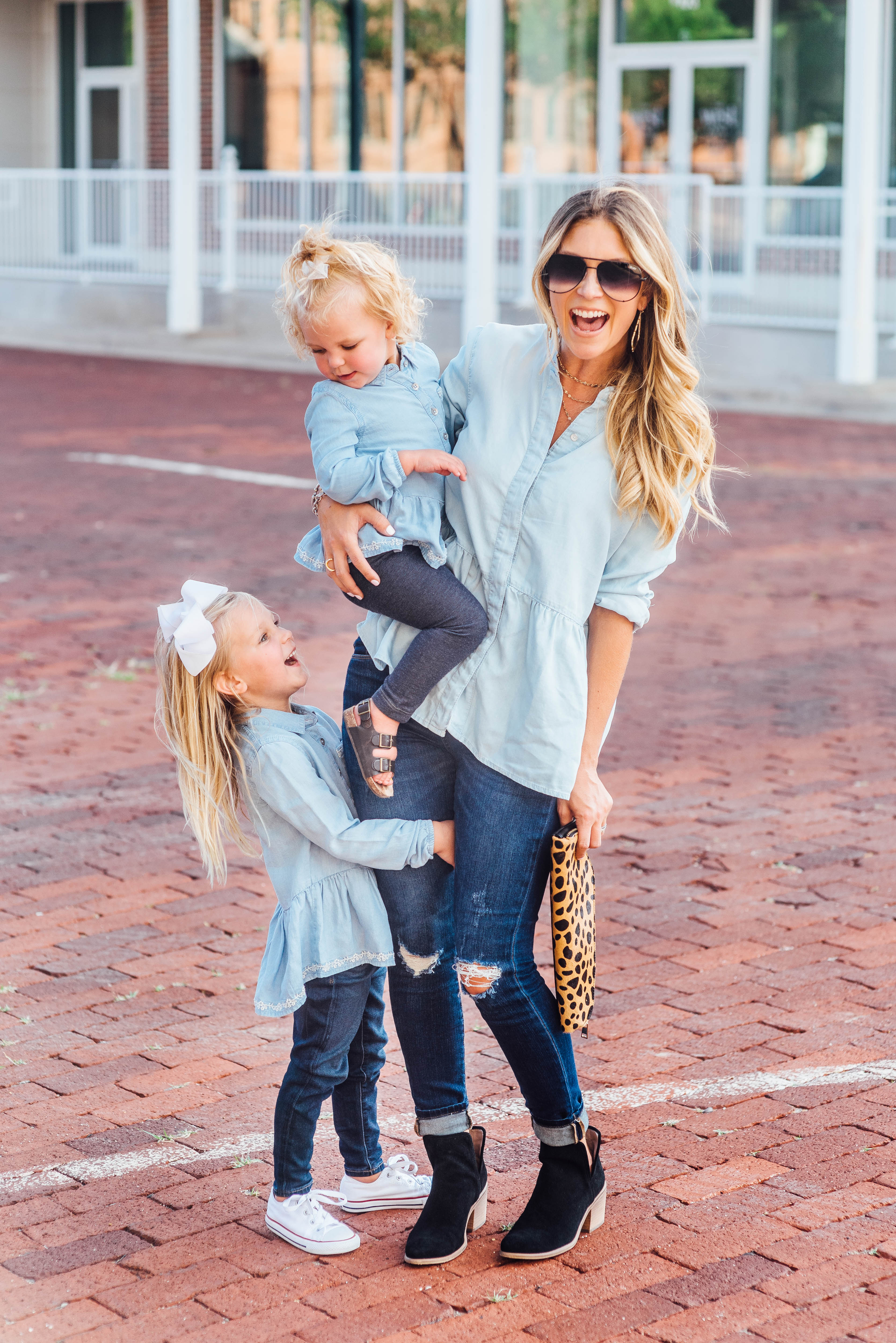 matching mommy & me style for back to school with nordstrom