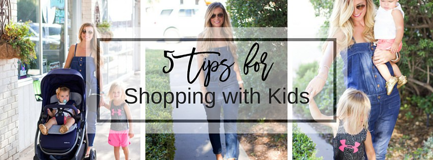 5 Tips for Keeping Sanity While Shopping with Kids