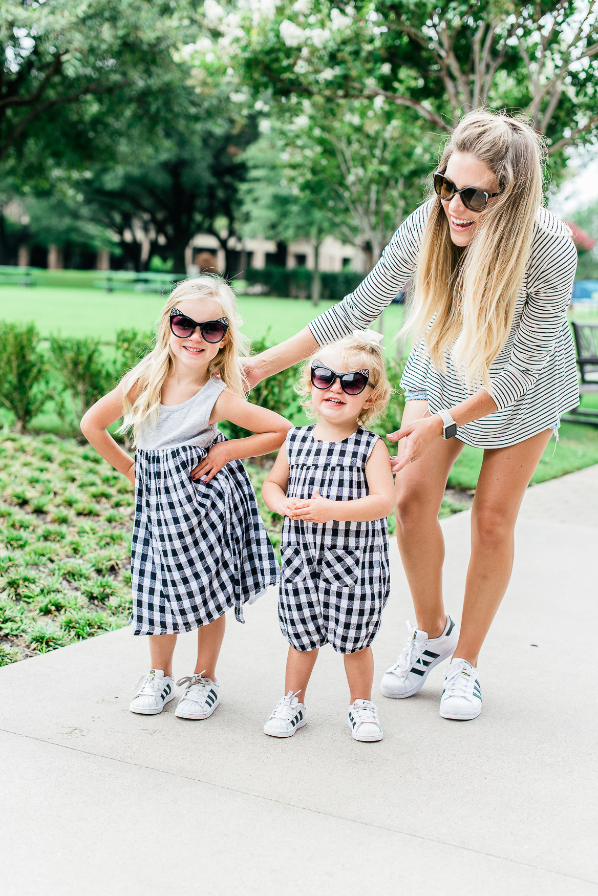 End of Summer Gingham with Nordstrom