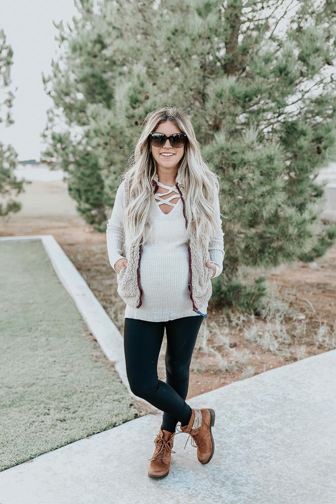 Arizona Long Sleeve V Neck Pullover Sweater-Juniors - JCPenney