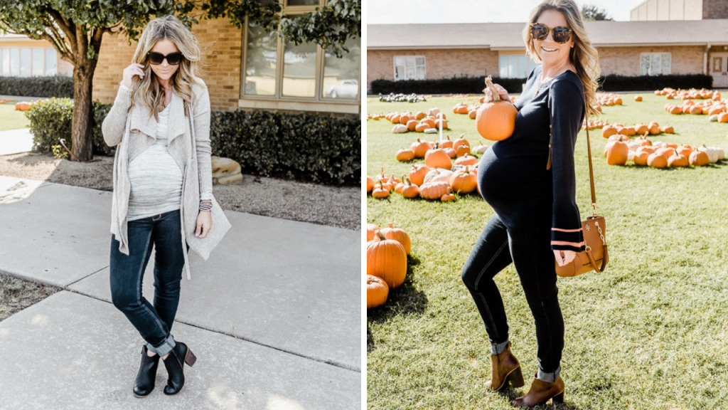 third trimester maternity outfits for fall