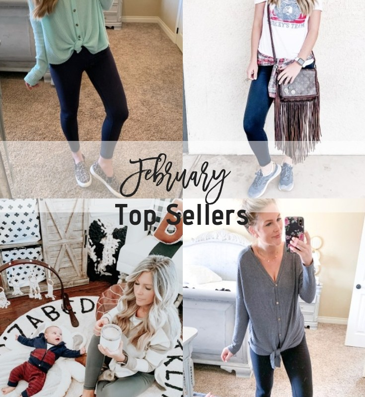 February Top Sellers