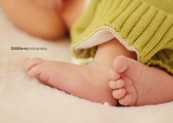 Sweet Feet - Newborn Photography - Richmond, VA