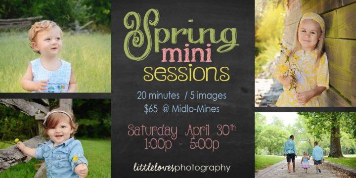 Spring Mini-Sessions! -Family Photography – Richmond, VA
