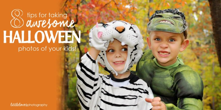 Eight Ways to Take Awesome Halloween Photos of your Kids