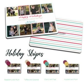 C Holiday Stripes
