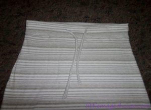 DIY Sew A Maxi Skirt From A Dress