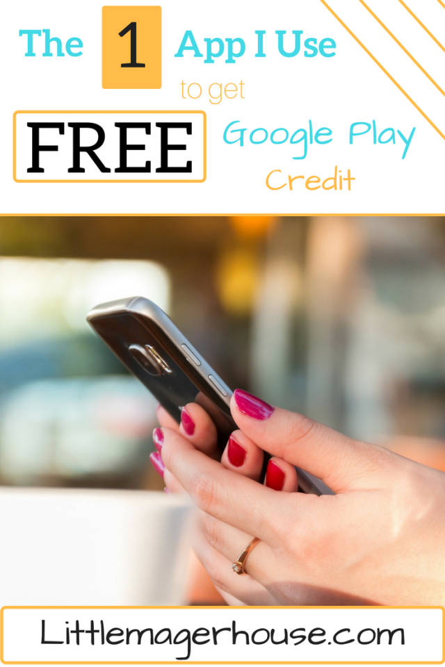 Free Google Play CreFree Google Play Credit - The One App I Use To Get All My Google Play Purchases For Free
