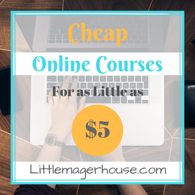 Cheap Courses Online For As Little As $5