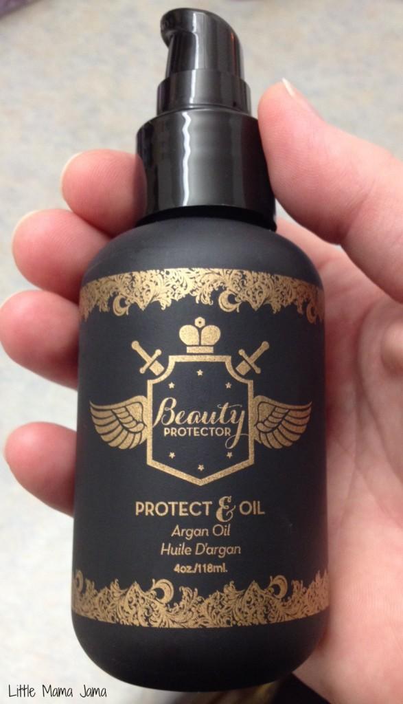 New Beauty Protector Protect Amp Oil Argan Oil Hair Serum