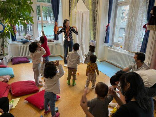 Dancing and Singing in Mandarin
